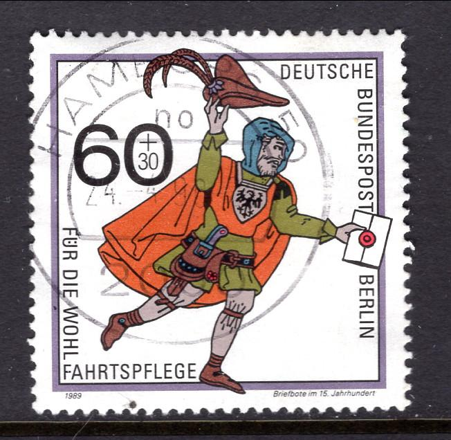 Germany Berlin 9NB272 Used VF