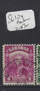 SARAWAK  (PP3010B)  4C BROOKE  SG 109   BARAM   VFU
