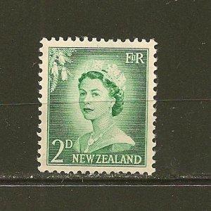 New Zealand 291 Queen Elizabeth II MNH