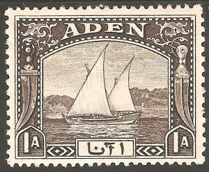 ADEN Sc# 3 MH FVF Dhow Sail Boat Ship