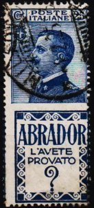 Italy. 1924 25c S.G.171g Fine Used