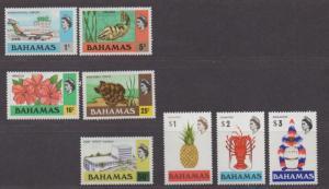 **Bahamas, SC# 426-433 MNH, VF Complete Set, CV $40.15