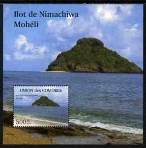 Comoro Islands 2011 Tourism perf m/sheet (Ilot de Nimachi...
