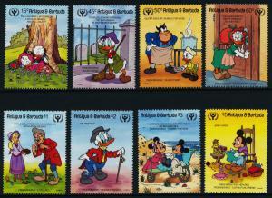 Antigua 1334-41 MNH Disney, International Literacy Year, Charles Dickens