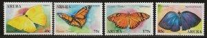 ARUBA  SC #   233 - 6  MNH
