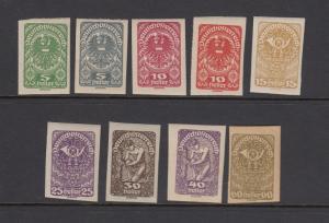 Austria 227-35 mint