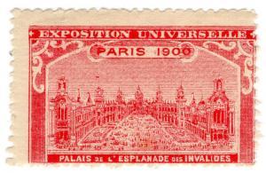 (I.B) France Cinderella : Exposition Universelle 1900 (Esplanade)