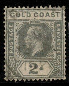 GOLD COAST SG89 1921 2d GREY FINE USED