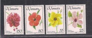 VANUATU SC# 582-85   FVF/MNH   1993