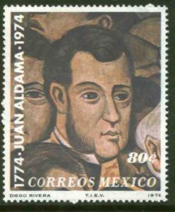MEXICO 1086 Bicentenary of the birth of Juan Aldama MINT, NH. VF.