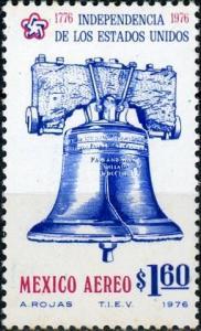 Mexico #C523 American Bicentennial - Liberty Bell MNH