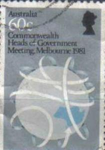 AUSTRALIA, 1981, used 60c. Commonwealth Heads of Government Meeting, Melbourne.