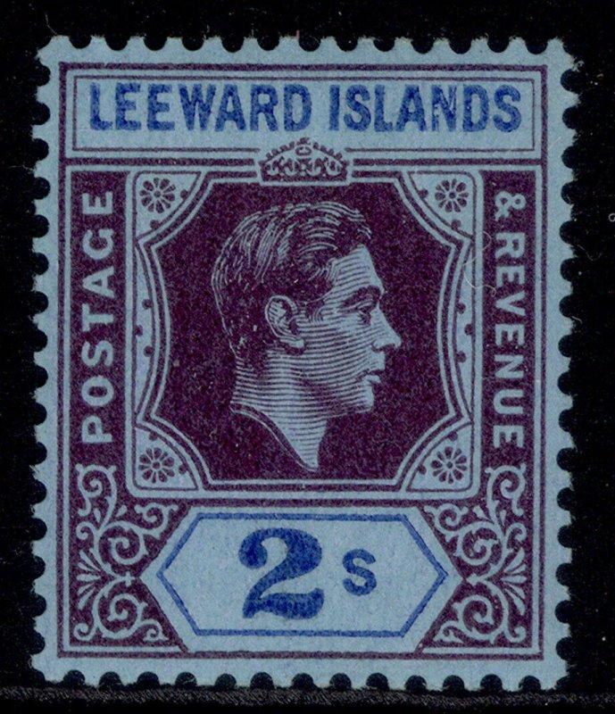 LEEWARD ISLANDS GVI SG111a, 2s reddish purple & blue/blue, M MINT. Cat £16.