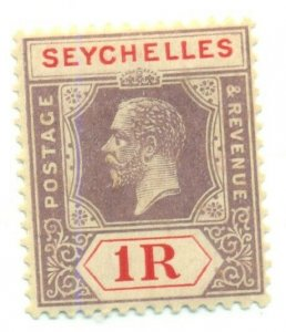 SEYCHELLES #111, Mint Hinged, Scott $29.00