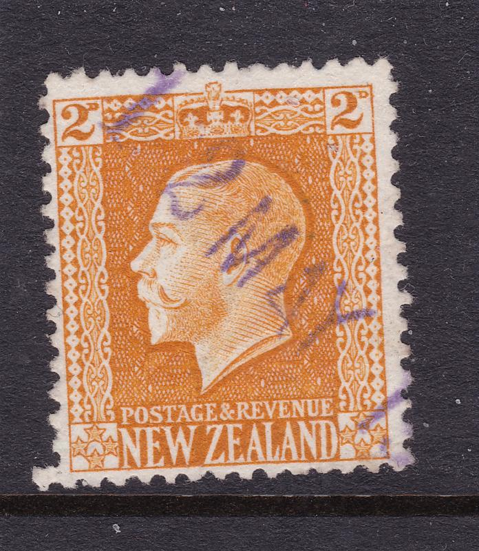 New Zealand a used?? 2d KGV Recess