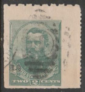 U.S. Scott #U293 Stamp - Used Single