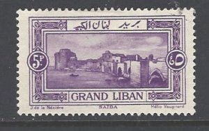 Lebanon Sc # 60 used (RS)