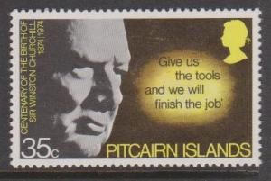 Pitcairn Islands Sc#145 MH