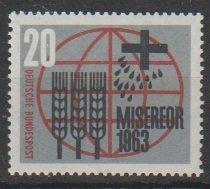 Mi:  391    mnh   1963  Cat €   0.40