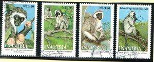 2004   NAMIBIA  -  SG: 954/57 -  VELVER MONKEY  -  USED
