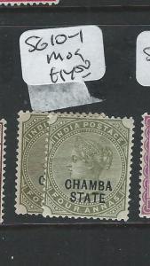 INDIA CHAMBA (P2308B) QV  4A   SG 10-1     MOG