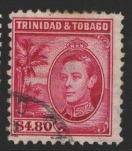 Trinidad and Tobago Sc#61 Used
