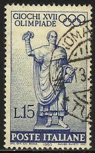 Italy 1960 Scott# 801 Used
