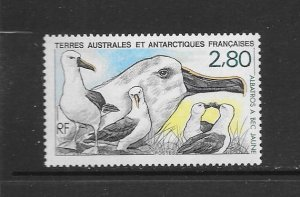 BIRDS - FRENCH SOUTHERN ANTARCTIC TERRITORY #155  MNH