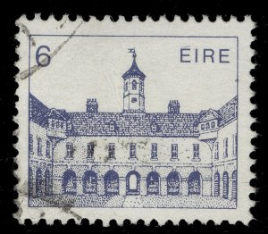 IRELAND QEII SG537a, 1982 6p deep grey-blue, FINE USED. CHALKY