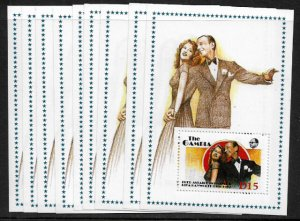 Gambia #777 MNH S/Sheet - Astaire - Hayworth - Wholesale
