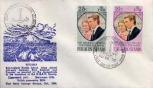 Pitcairn Island, First Day Cover