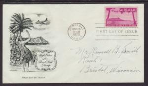 US C46 Diamond Head,HI Artmaster Pen FDC