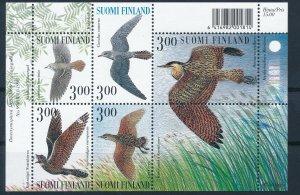 [I2663] Finland 1999 Birds good sheet very fine MNH