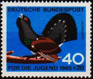 Germany. 1965 40pf+20pf S.G.1387 Unmounted Mint