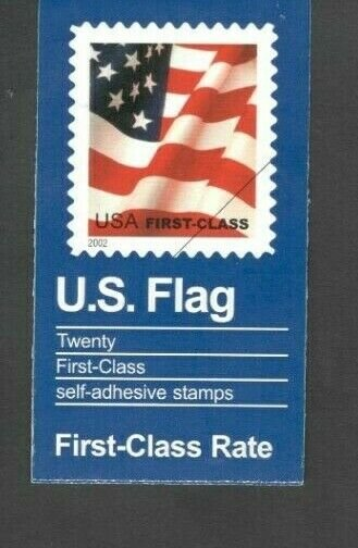 BK290 Flag Booklet Of 20 Mint/nh Selling @ Face FREE SHIPPING