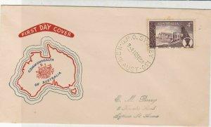 Australia 1958 G.P.O. Sydney Cancel C/wealth Island Pic FDC Stamp Cover Rf 34422