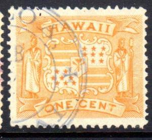 Hawaii #74, part Koloa, Kauai 282.012 CDS (rarity 8)