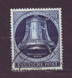 J23198 JLstamps 1951-2 berlin germany hv of set used #9n78 bell clapper right