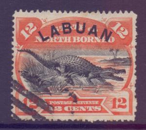North Borneo Labuan Scott 55 - SG70, 1894 12c used CTO