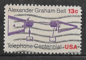 USA 1683: 13c Bell's Telephone Patent Application, used, VF