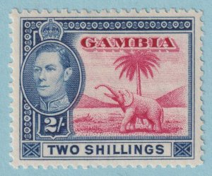 GAMBIA 139 MINT HINGED OG*  NO FAULTS EXTRA FINE