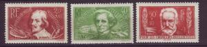 J19418 Jlstamps 1936-7 france mh #b48,b50-1 people