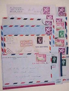 CURACAO ARUBA15 SMALL COVERS MOSTLY TO USA INCLUDES REGISTERED