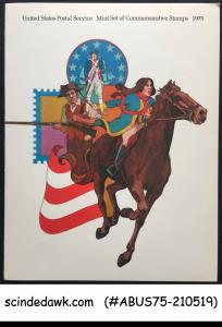 USA UNITED STATES 1975 COMMEMORATIVE STAMPS SPECIAL FOLDER MNH