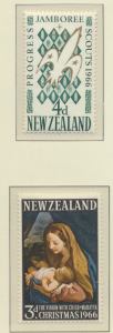 New Zealand Stamps Scott #378 To 381, Mint Hinged, #379 NH - Free U.S. Shippi...