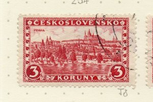 Czechoslovakia 1926-27 Issue Fine Used 3k. NW-148618