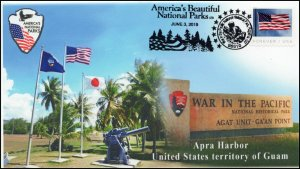 19-233, 2019, War in the Pacific, Pictorial Postmark, Event, Guam, National Hist