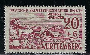 Germany - under French occupation Scott # 8NB6, mint nh