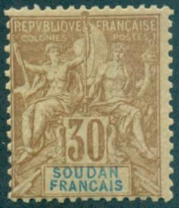 French Sudan #14  MNH  Scott $80.00