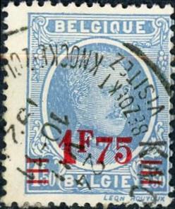 Belgium #160 Albert I Used/H